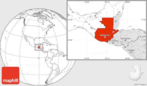 Guatemala on the Map